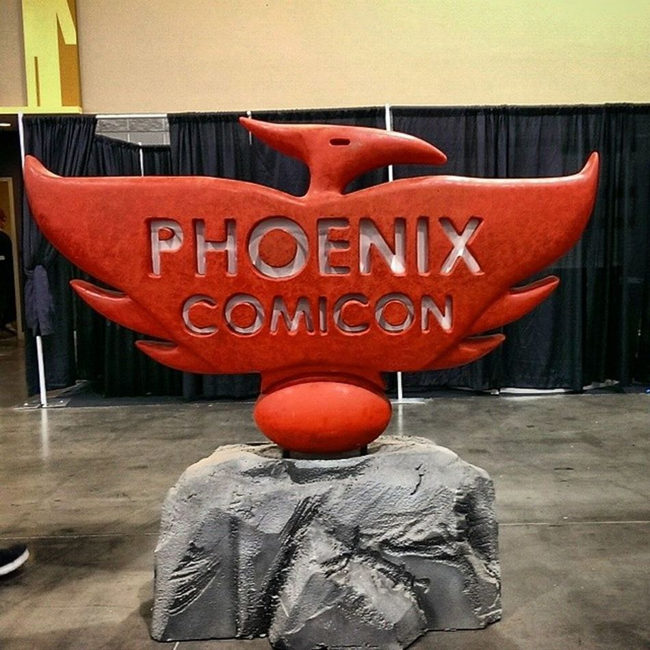 THANK YOU Phoenixcomiccon Phoenixcomiccon2014 PHXCC @phoenixcomicon ❗❗💥💥 Awesome time !