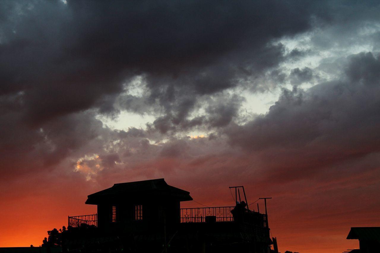 EyeEm Best Shots Shillong Sky Sunset Nature Amateurphotography No People Red Orange