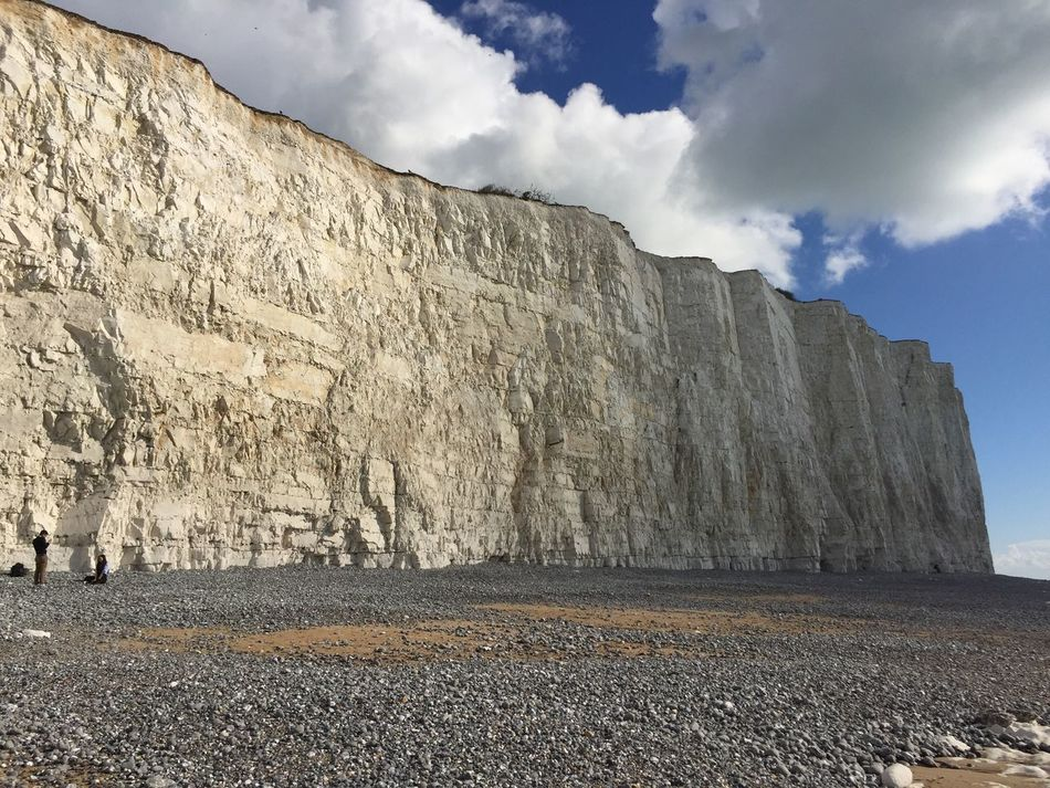 Birling Gap Outdoors Coastal Cliffs Seven Sisters Birling Gap Wall East Sussex Eastbourne United Kingdom Autumn Colors