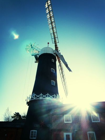 Coffee Sunshine Sky Windmill Industrial Rural Scenes Agriculture Hull Skidby