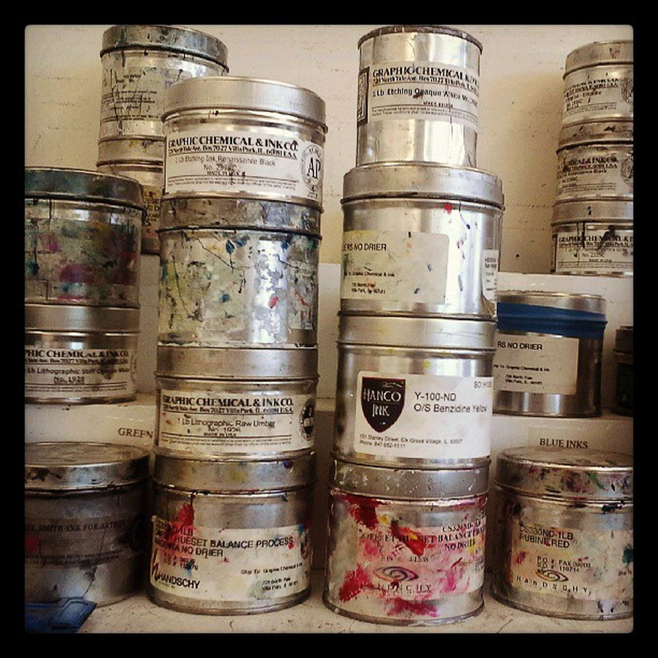 Details Photooftheday Printmaking Labels Cans Prints Minimalalma UniversityOfNebraska Printshop Photographyalma