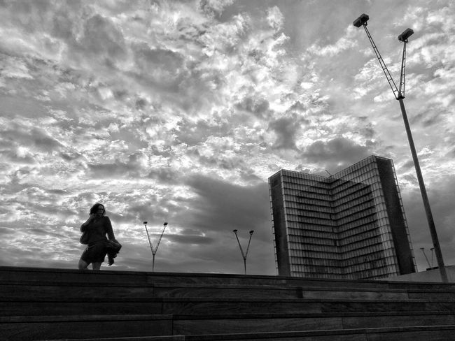 Sky Tower Black & White Paris Streetphotography Architecture B&w Street Photography