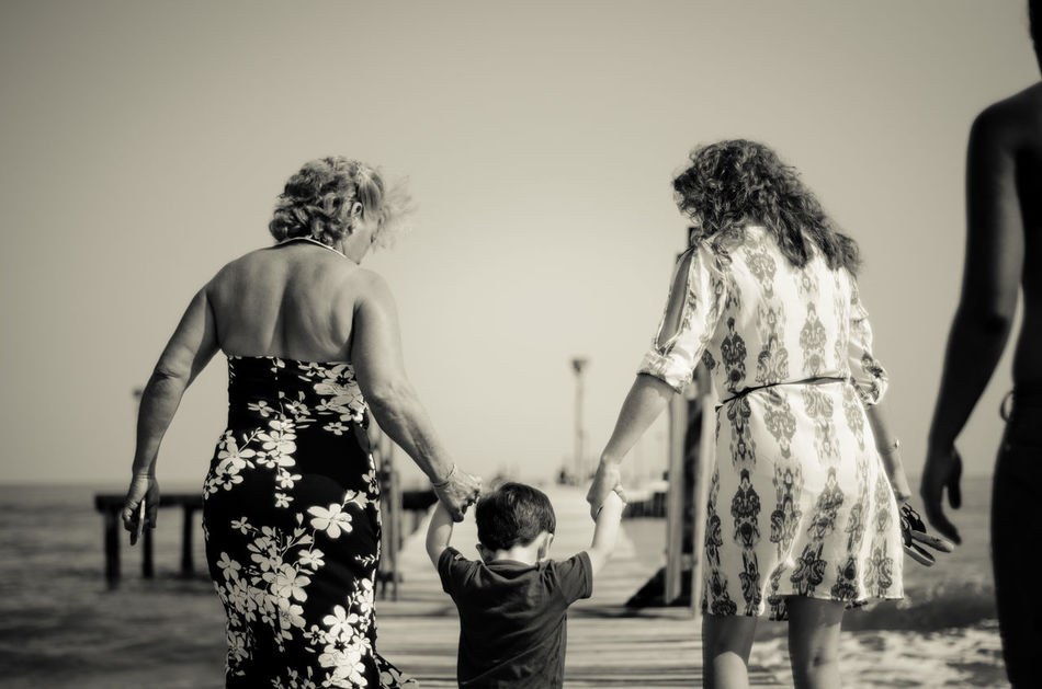 Beautiful stock photos of granny, 18-23 Months, Aging Process, Baby Boys, Beach