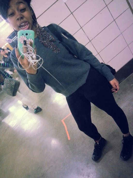 At School Gorgeous Cute Pretty Simple Earlier Today ♥