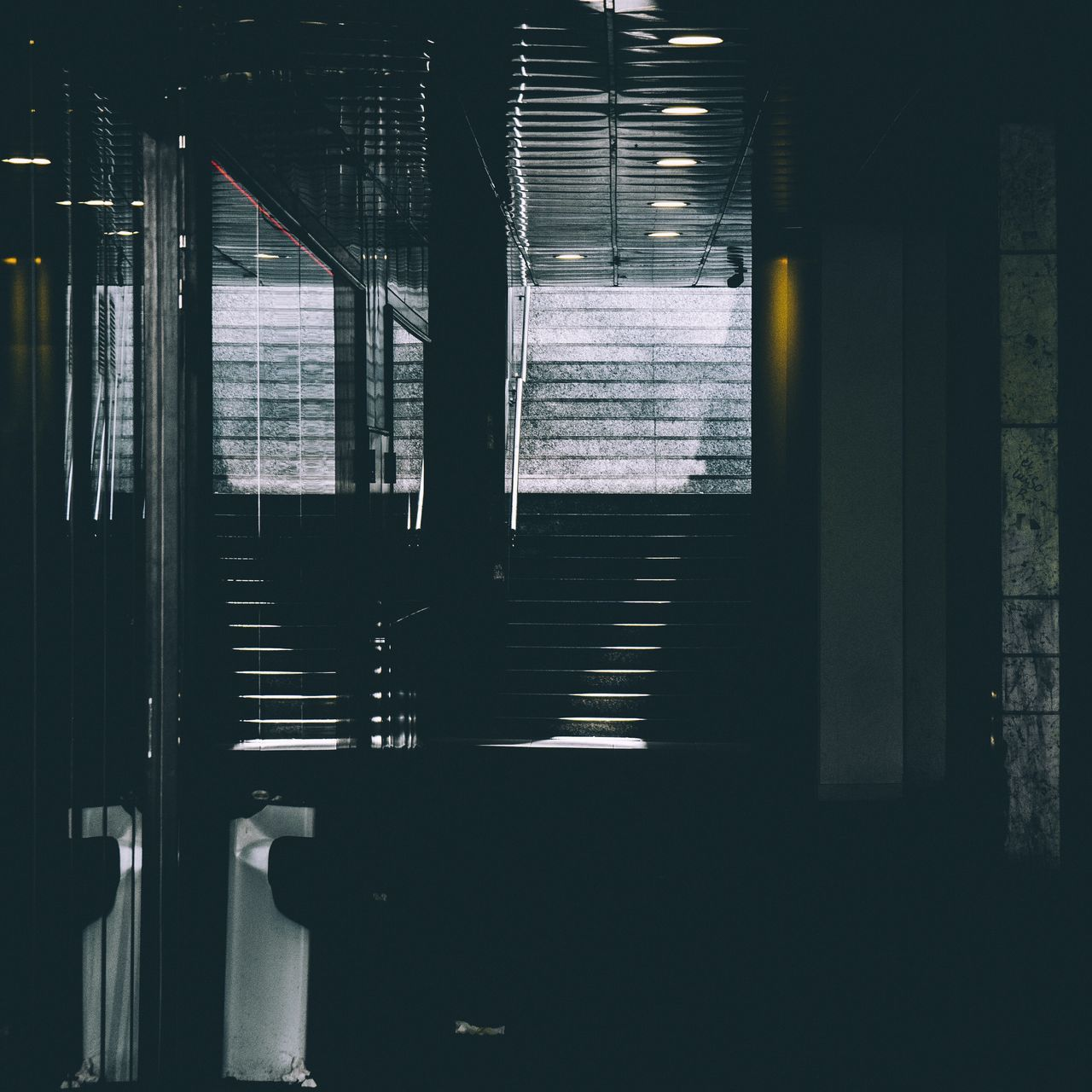Indoors  Window Built Structure Architecture No People Illuminated Day Architecture Light And Shadow Stairs Streetphotography Madrid City Urban
