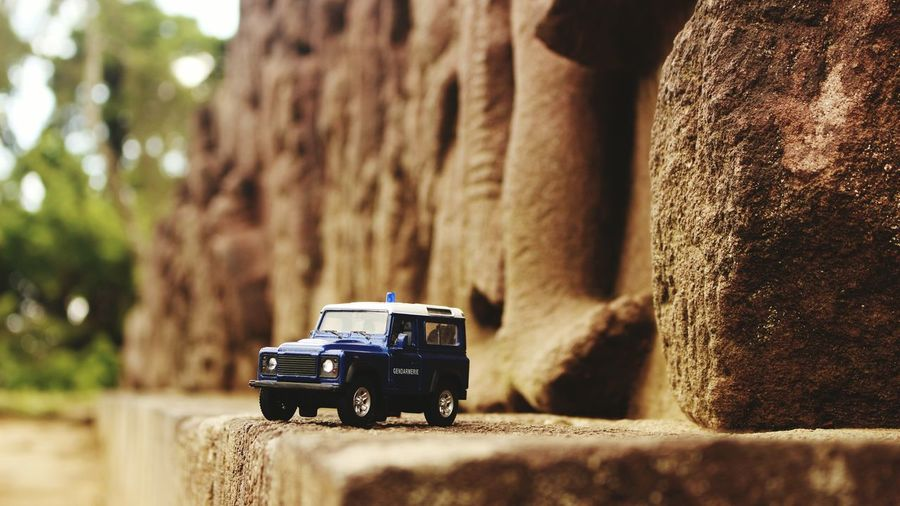 When my Land rover diecast traveling in Sukuh Temple MeinAutomoment Diecastphotography Indonesiandiecaster Candisukuh Visitindonesia