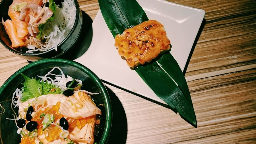 晚餐🍴🍴。 Dinner Eating 丼飯 Seafood Food Porn Japanese Food Taiwan 魚兵衛