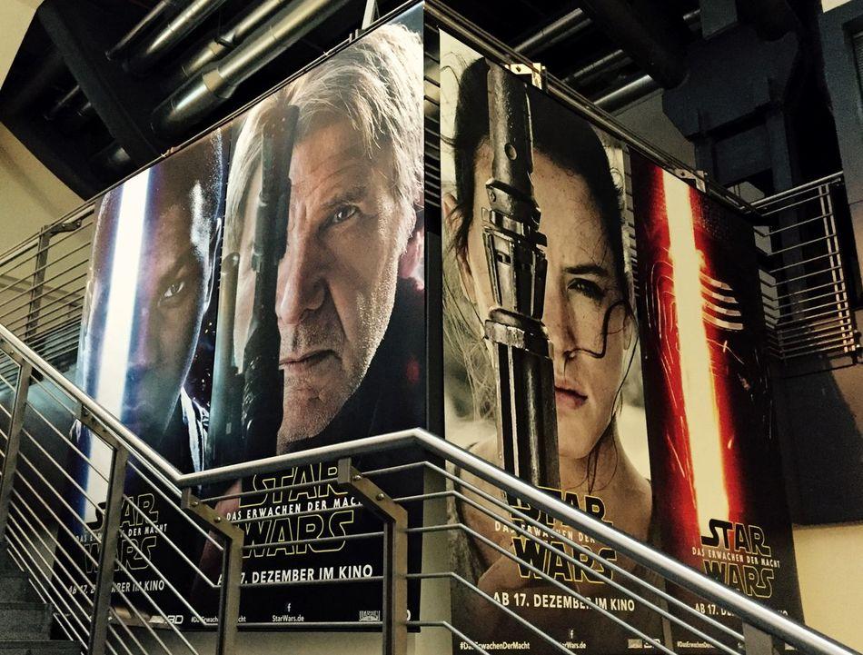 Star Wars VII Force awaken … 11 days to go Cinestar Starwars MOVIE