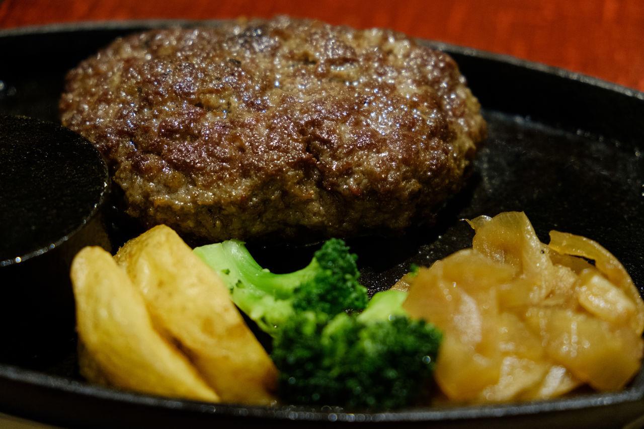 ハンバーグ Food Food And Drink Foodporn Fujifilm FUJIFILM X-T2 Fujifilm_xseries Hamburg Steak Ready-to-eat X-t2 ハンバーグ