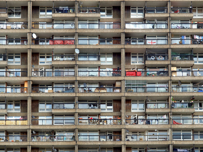 Trellick Tower in London Architecture London Modern Brutalism Brutalist Brutalist Architecture Concrete Goldfinger New Brutalism Trellick Tower Uk