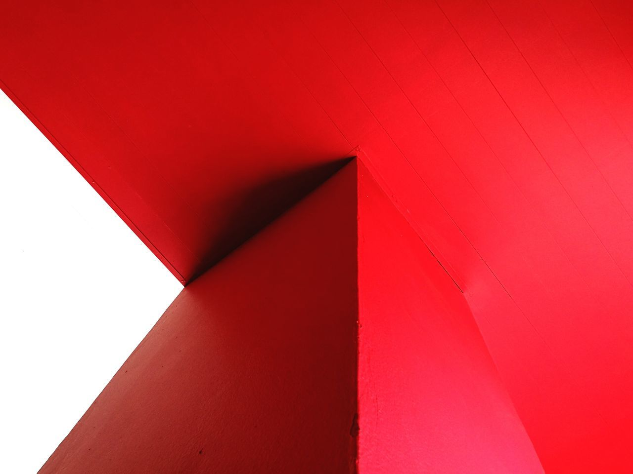 Exploring Style Red Envelope No People Detail Details Textures And Shapes Shape Form LINE Space Architectural Minimal