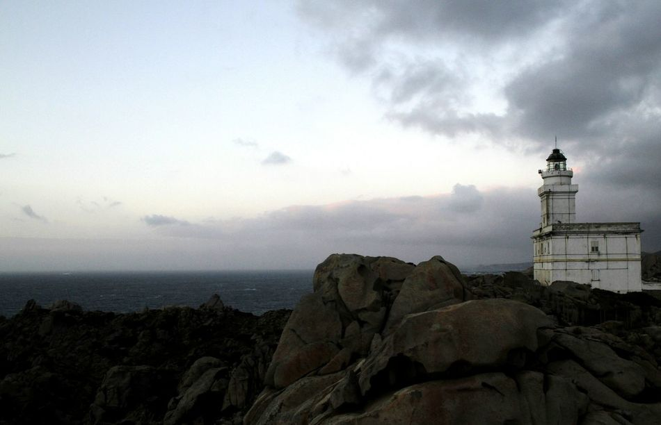 Lighthouse Outdoors Vacations Tranquility Solitude Remote Tranquil Scene Day Capotesta