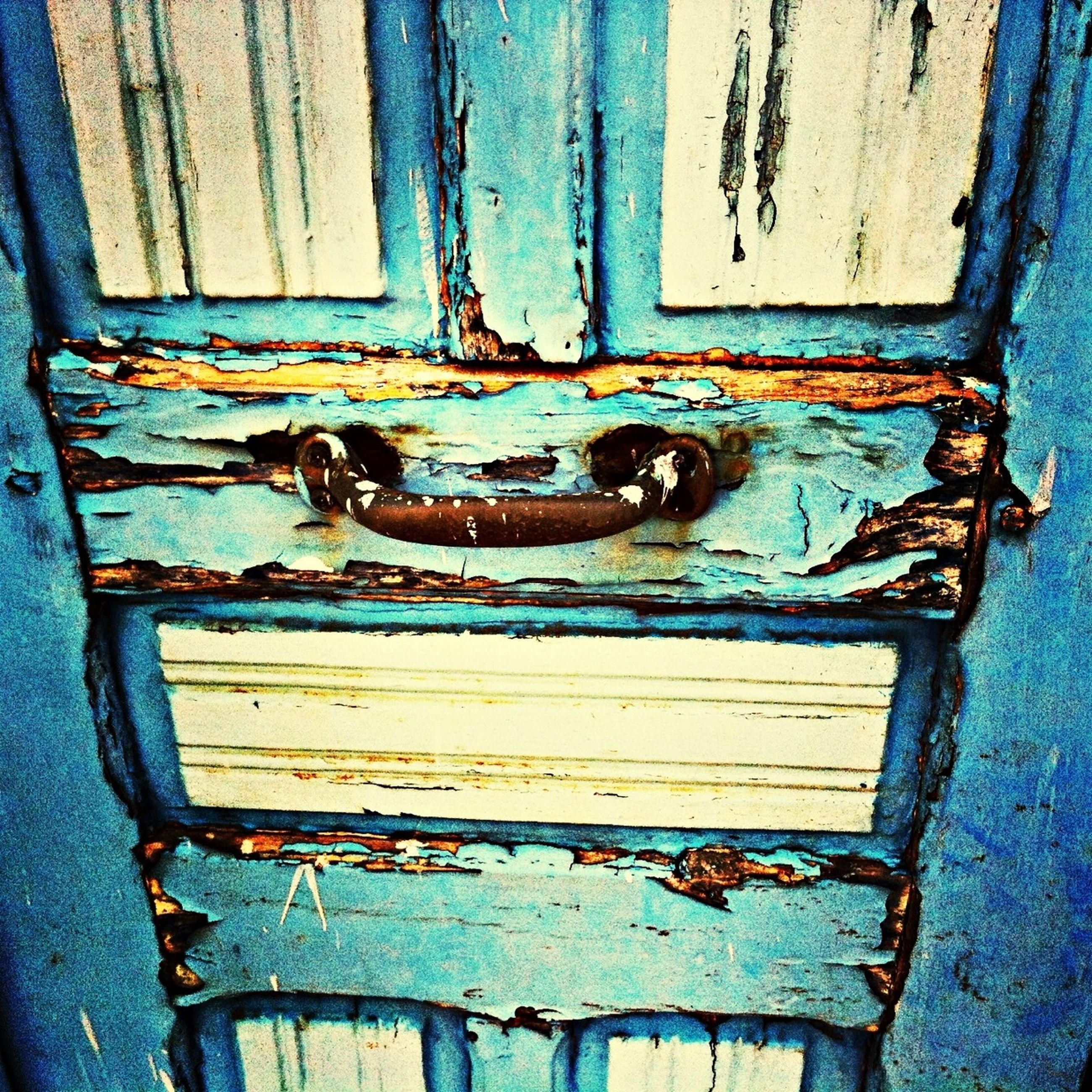 weathered, abandoned, old, damaged, obsolete, run-down, deterioration, rusty, bad condition, door, metal, peeling off, wood - material, built structure, full frame, close-up, wall - building feature, broken, backgrounds, metallic