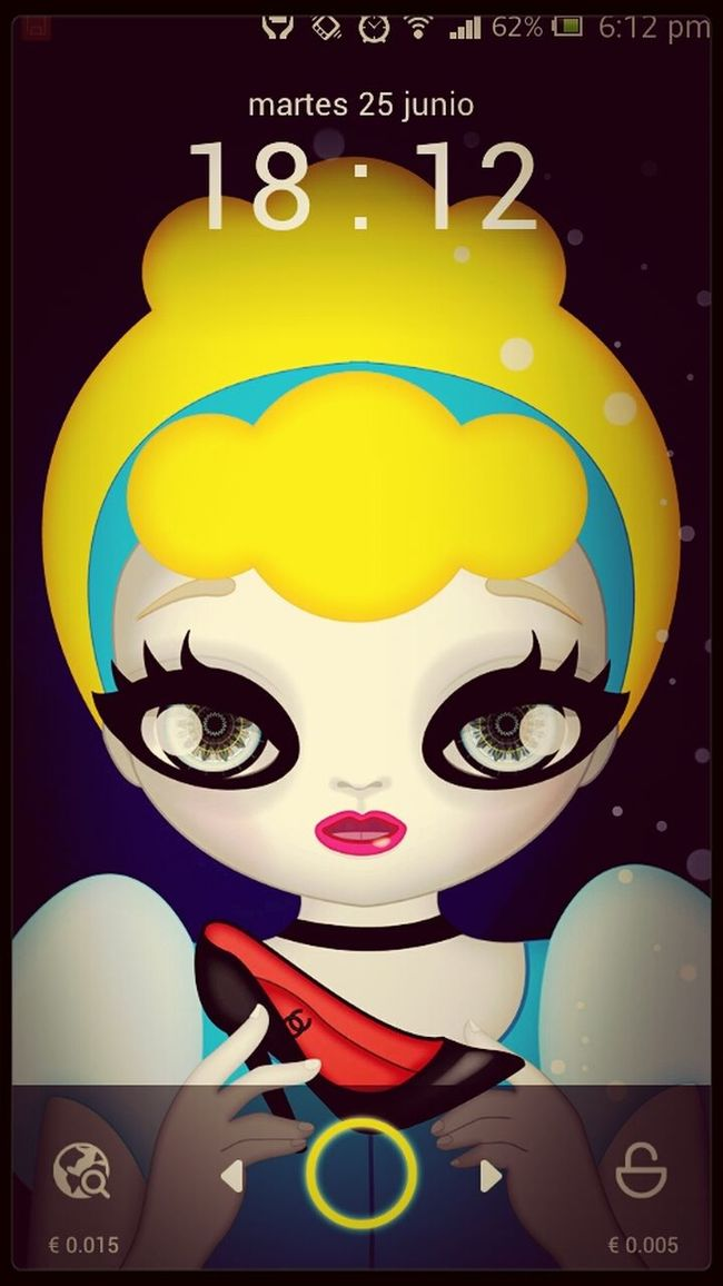 Dolls Cinderella Lattescreen Cenicienta