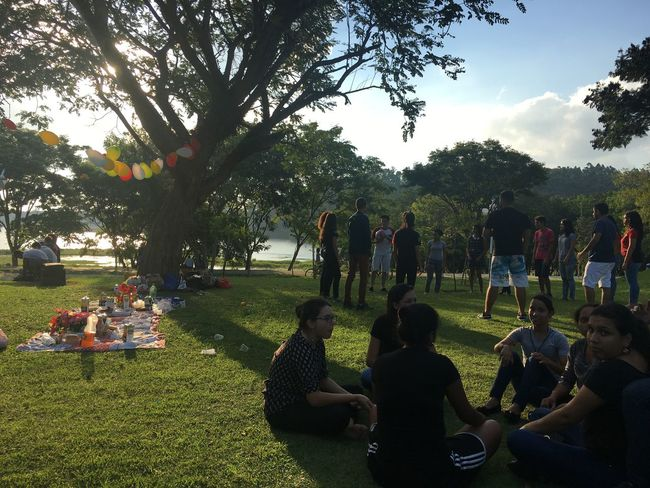 That Moment With Friends Holidays ☀ FJU Event Friendship Lifestyles Picnic Time ♡ ❤️🇧🇷 Enjoying Life