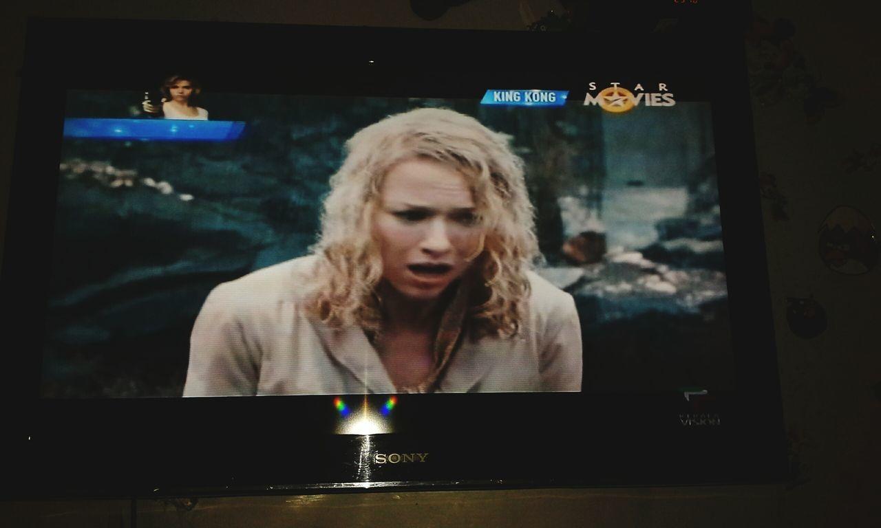 WatchingTV Starmovies Filim House Goodnight SweetDreamsEveryone Watching A Movie King Kong