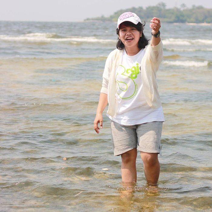 Onedaytrip Onrustisland Weekend Kepseribu INDONESIA Withfriends Greatview Beach Comejoinme yeayy😊
