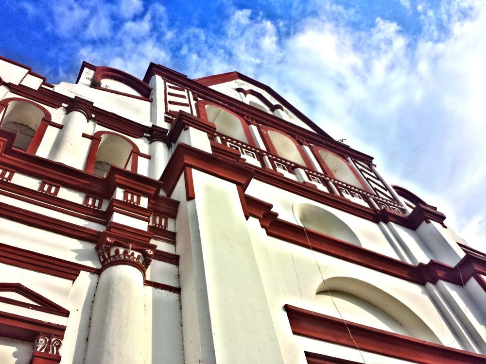 parroquia sto.Domingo Guzman. Architecture Change Your Perspective Clouds And Sky Traveling