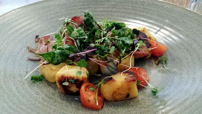 Pan fried Gnocchi^~^ Gnocche Panfried Cafe Melbourne Australia Lunch