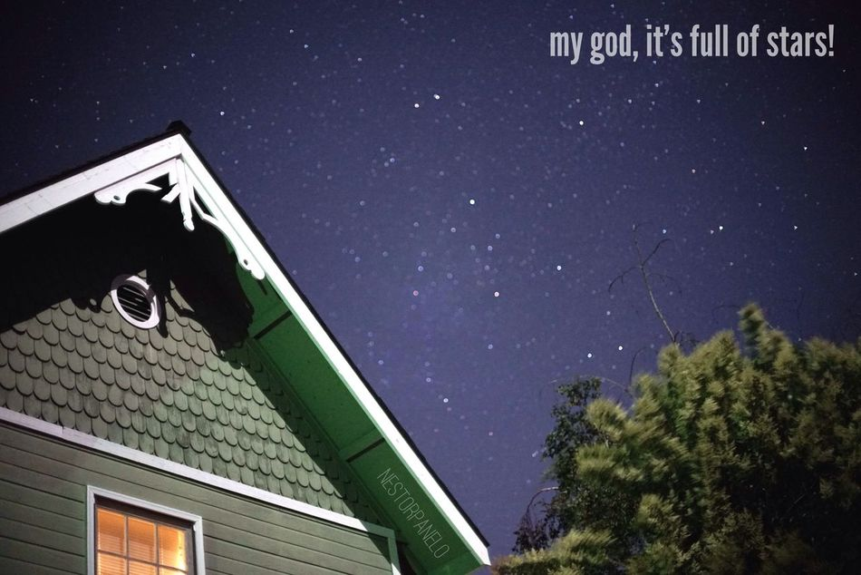 Night Sky Stars San Luis Obispo California