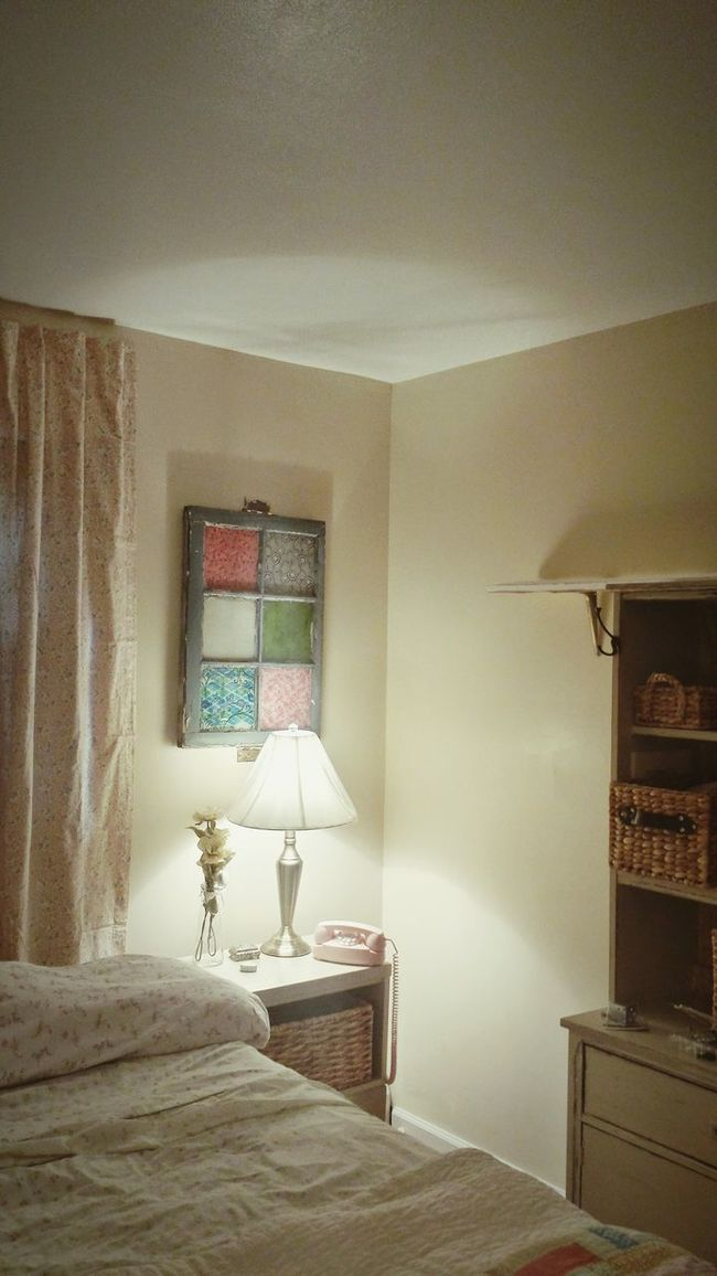 Interior Design My Creations My Bedroom Vintage Window My Quirky Style My Vintage Phone Interiors Views