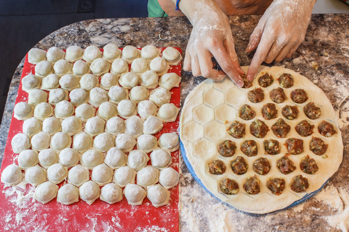 EyeEm Selects One Person Human Hand Food And Drink Freshness Food Human Body Part Meatballs Meat Dumplings Pelmeni Russian Kitchen Dough Preparation  Domestic Life Homemade Indoors  Making Cooking Cooking At Home Kitchen Woman Girl Gourmet People Adult