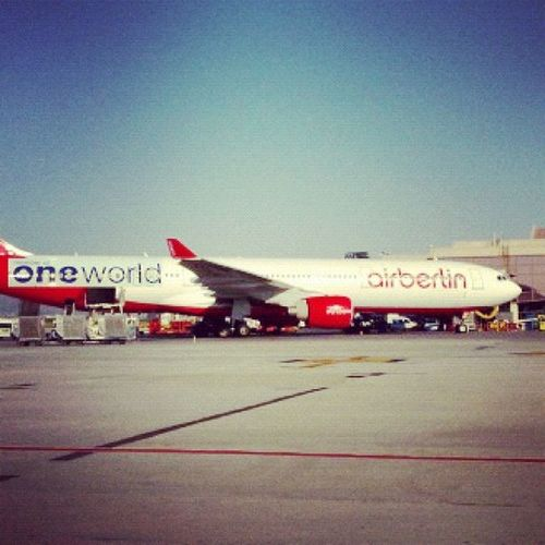 AmericanAir Love flying airberlin - looking forward to having them with One World! #aapic Aapic
