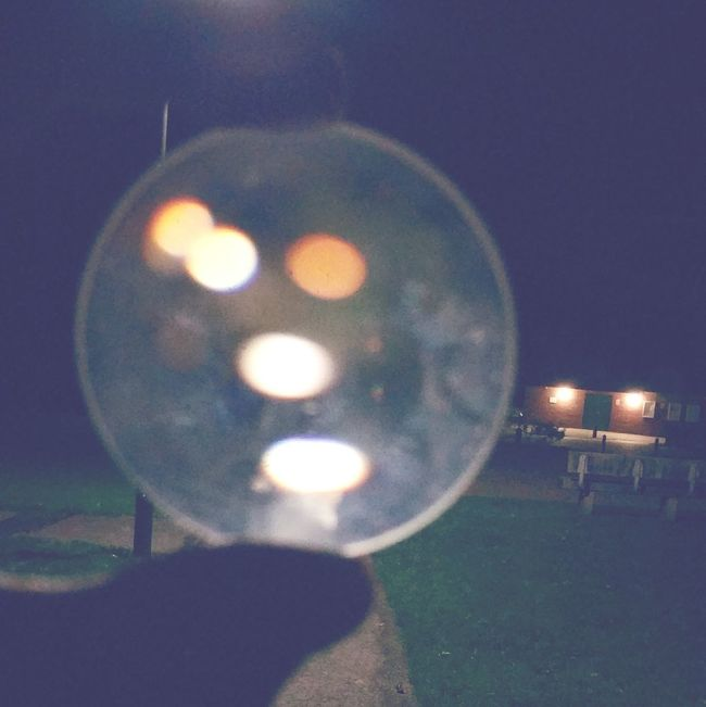 Lights Through A Lens Magnifying Glass Nightphotography Nightlights Taking Photos Check This Out Something Different Different Perspective