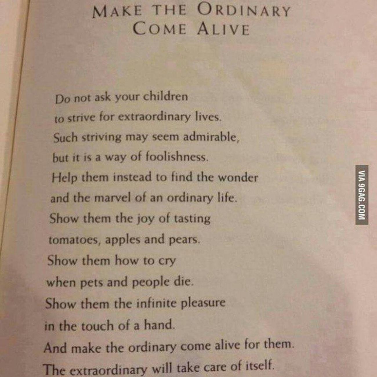 Teach Children Howtolive Life