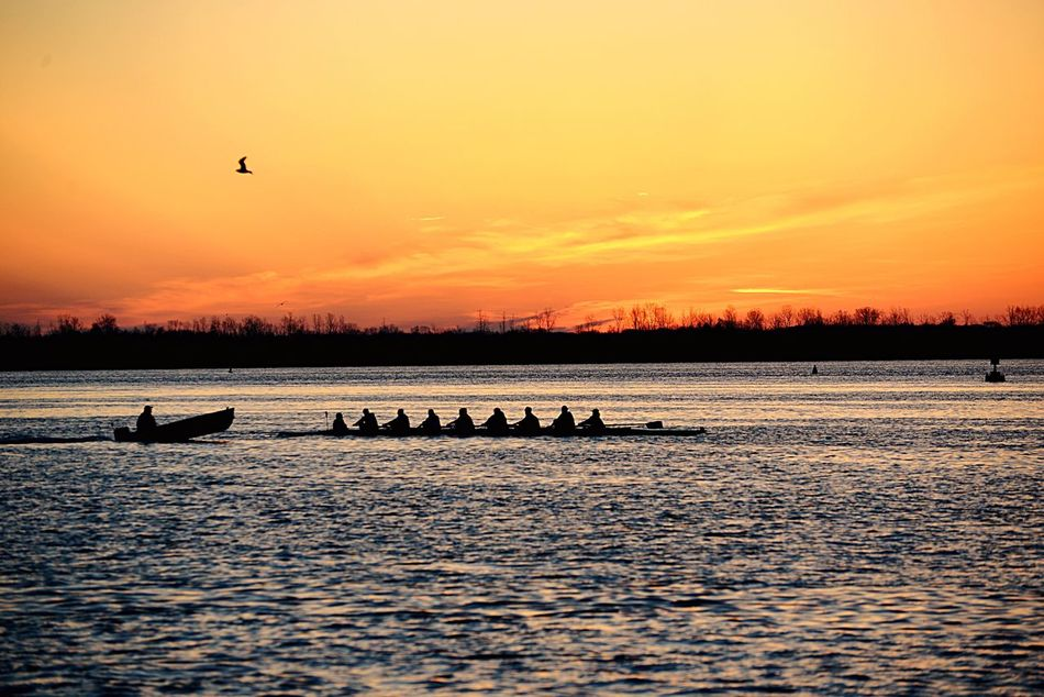 Beauty In Nature Presunrise Outdoors Pure Michigan Puredetroit Tranquil Scene Rowing WyandotteRowers Detroit River Sunrise_Collection Nikond600 Nikon_photography