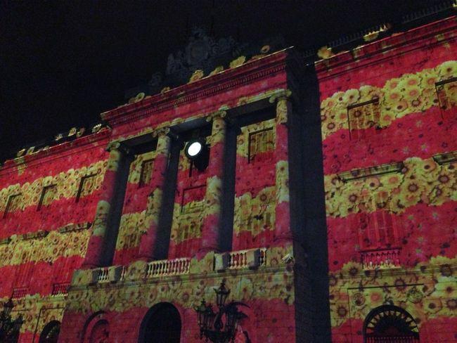 Power Lines Night Lights Catalunya Photostreet