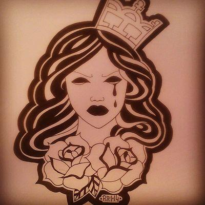 +SADPRINCESS+ Pixiiart Artbypixii Drawingtime Malen zeichnen lovetodoit blackwhite roses sketch flash pixiivanhell drawing