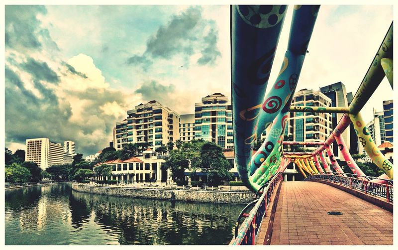 Bridge Quayside Early Morning Walking Around Peace And Quiet Colorful Landscapes With WhiteWall