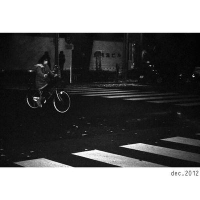 "Part of Tokyo ""X"" | New Scans of Fujifilm Neopan400 blackandwhite film x superprodol developer x Leica M7 and 50mm ElmarM | Shinjuku Japan | street streetphotography night humancondition travel documentary bicycle"
