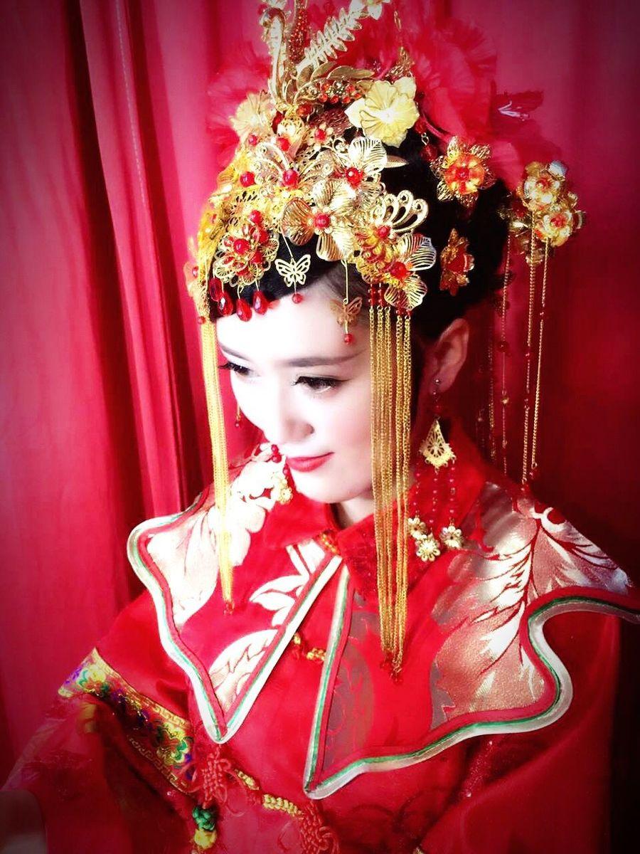 新娘 中国风 汉服
