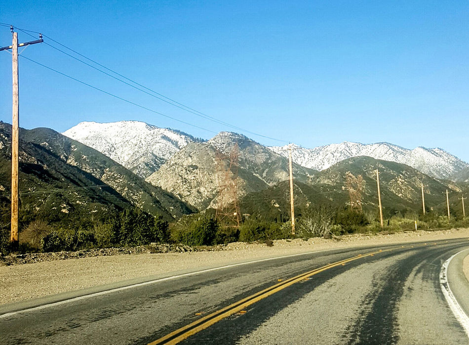 Mountain Road The Way Forward No People Day Sky Transportation Outdoors Snow Nature Roadlesstravelled Ll California Settle Hiking Gnb Free Beauty In Nature