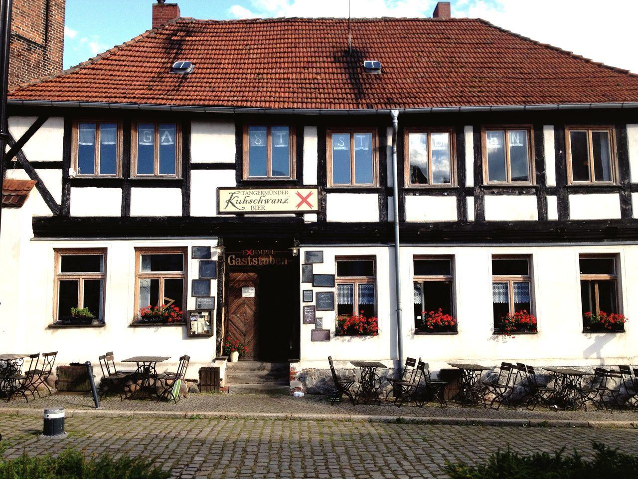 Tangermünde Germany Fachwerk Truss Half-timbered Historical Building Architecture