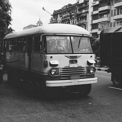 Blackandwhite Bwwednesday Streetphotography Cityscene Rangoon Yangon Burma Myanmar Everydayasia Dailylife Travelshots Seeninthecity Feel The Journey
