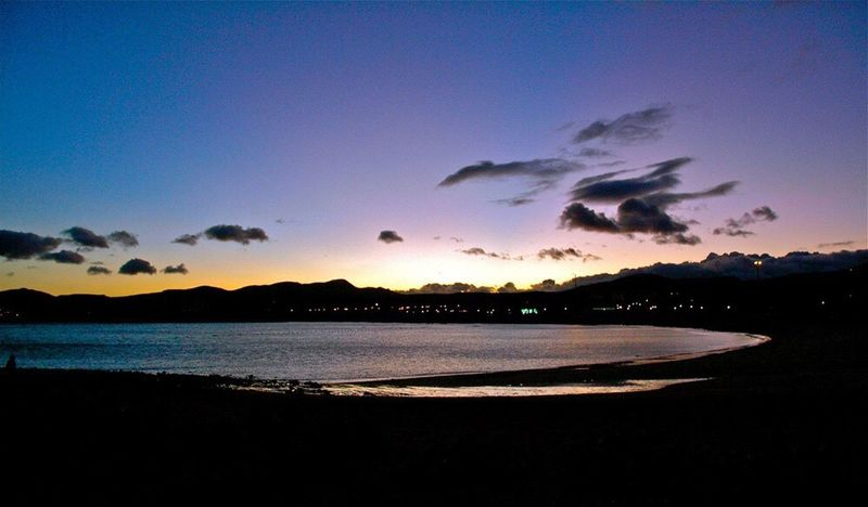 Fuerteventura Sky Sunset Nature Sea