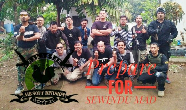Outdoors People Friendship Happiness Togetherness Makassar Airsoft Division