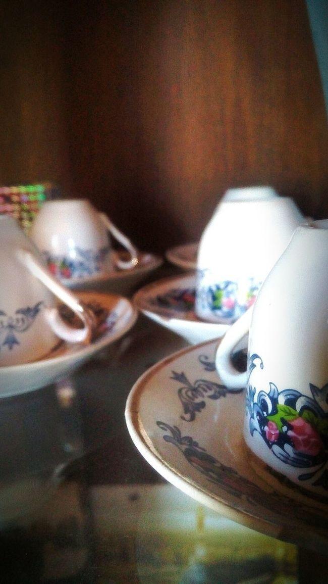 Fincan Kahvekeyfi Eskiler Vitrin My Grandmothers House❤ Porcelain  Cup Of Coffee Coffee Time Cup Antique