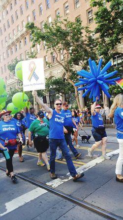 Orlandostrong Hanging Out Taking Photos Prideparade Pride2016 Enjoying Life Bayareaphotography Love ♥
