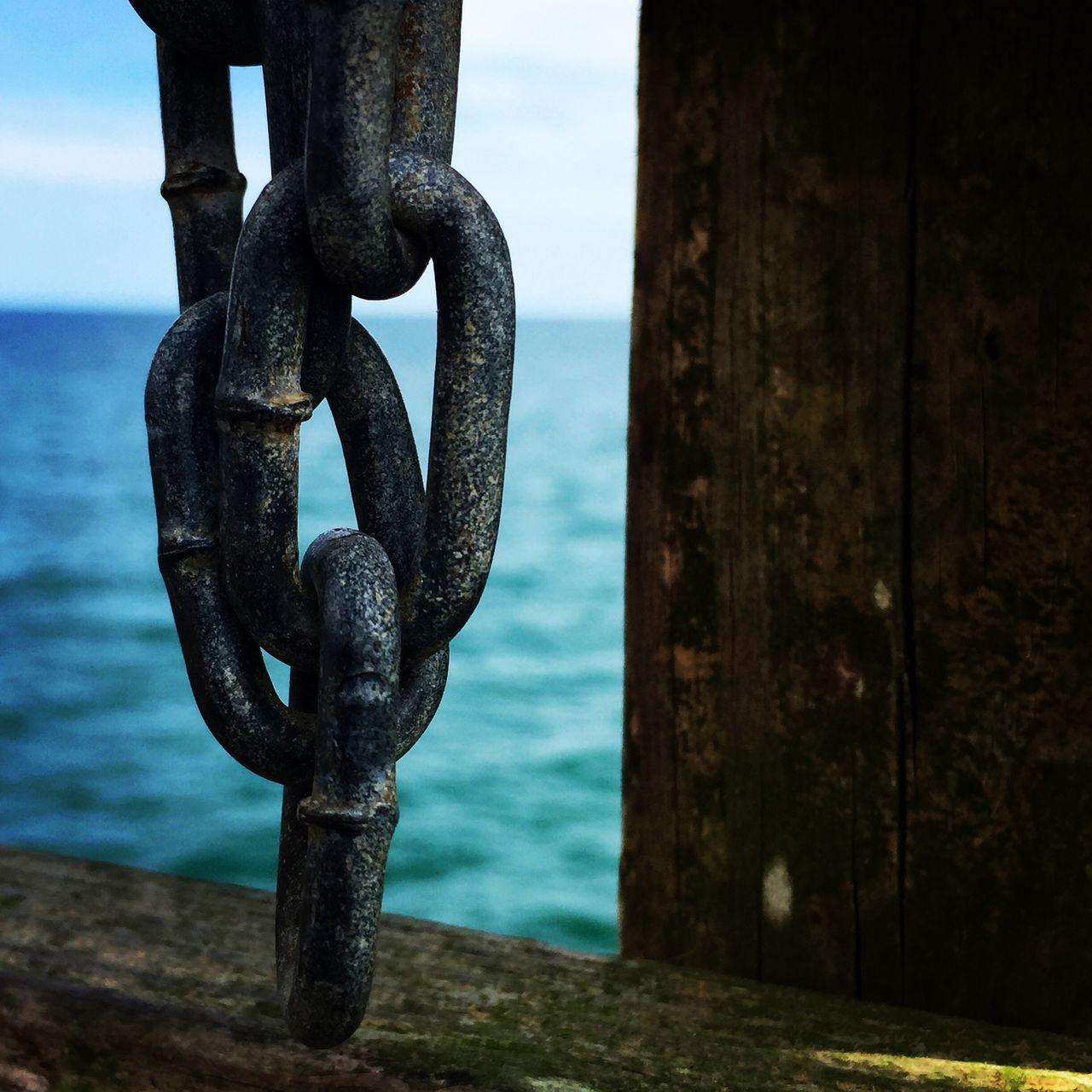 Jax beach Florida JacksonvilleFL Atlantic Ocean Chain