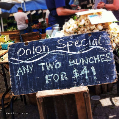 Typography at Evanston Farmers Market by miller_spm