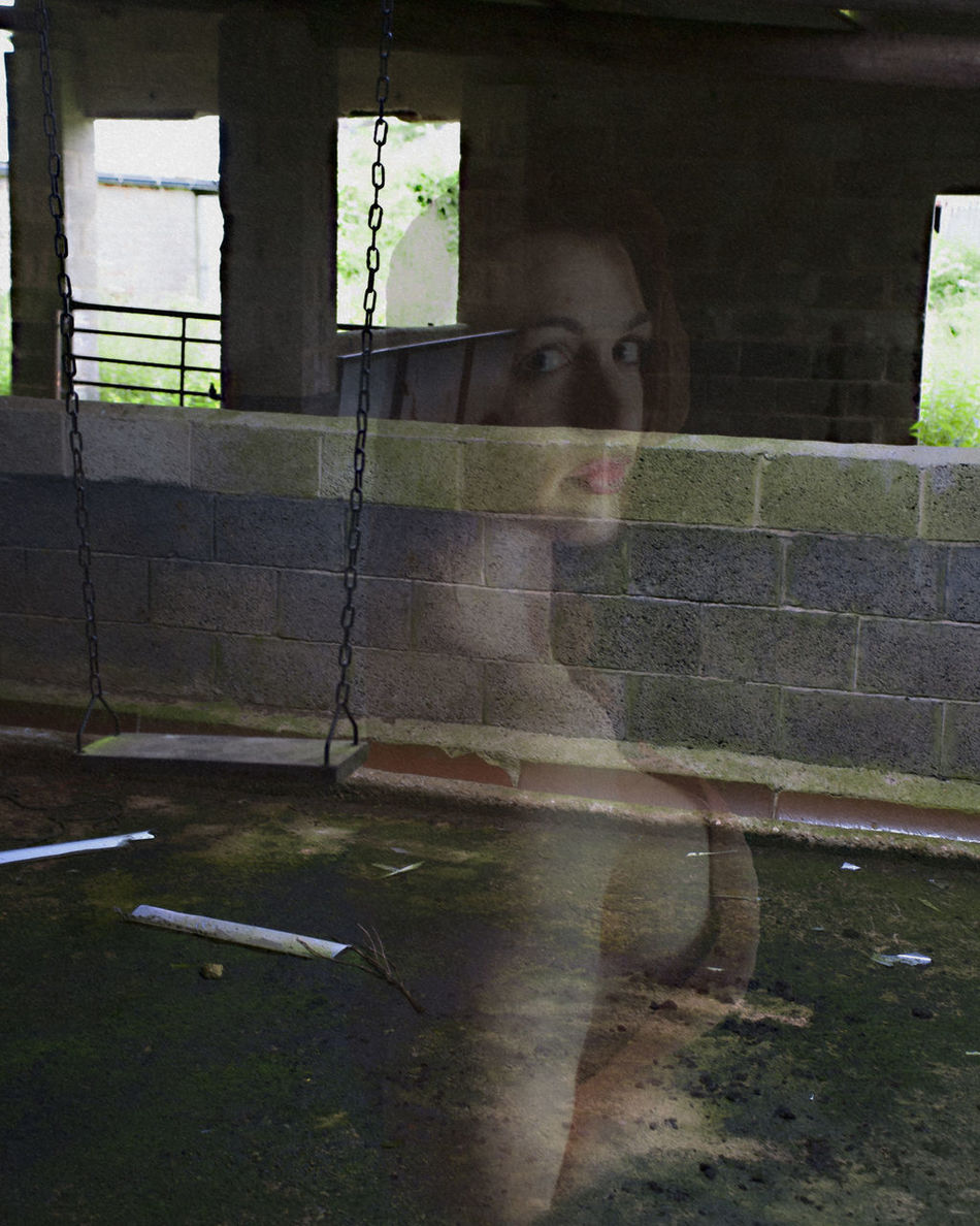 Abandoned Buildings Barely Visible Day Location Photography Nude_model One Person People Real People Woman Portrait