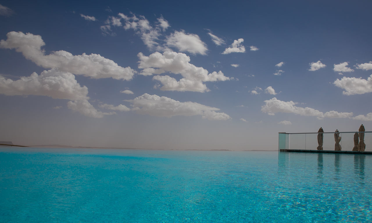 EyeEmNewHere Water Swimming Pool Tranquility Sea No People Outdoors Scenics Day Landscape Nature Sky Desert Life