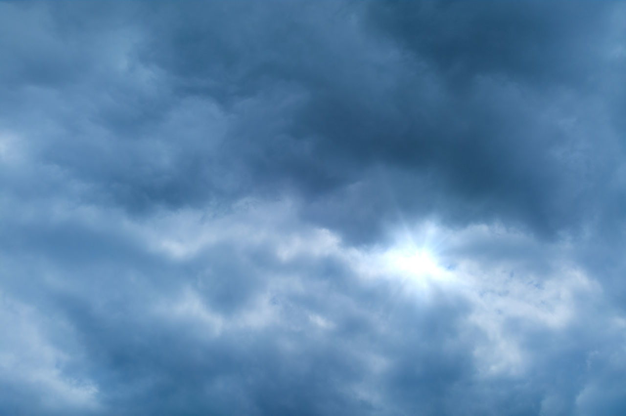 cloud - sky, sky, nature, beauty in nature, weather, low angle view, atmospheric mood, scenics, cloudscape, sky only, no people, outdoors, day, tranquility, backgrounds, storm cloud, tranquil scene, awe, full frame