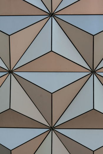 Walt Disney World Epcot Spaceship Earth Orlando Orlando Florida Florida Geometric Shapes