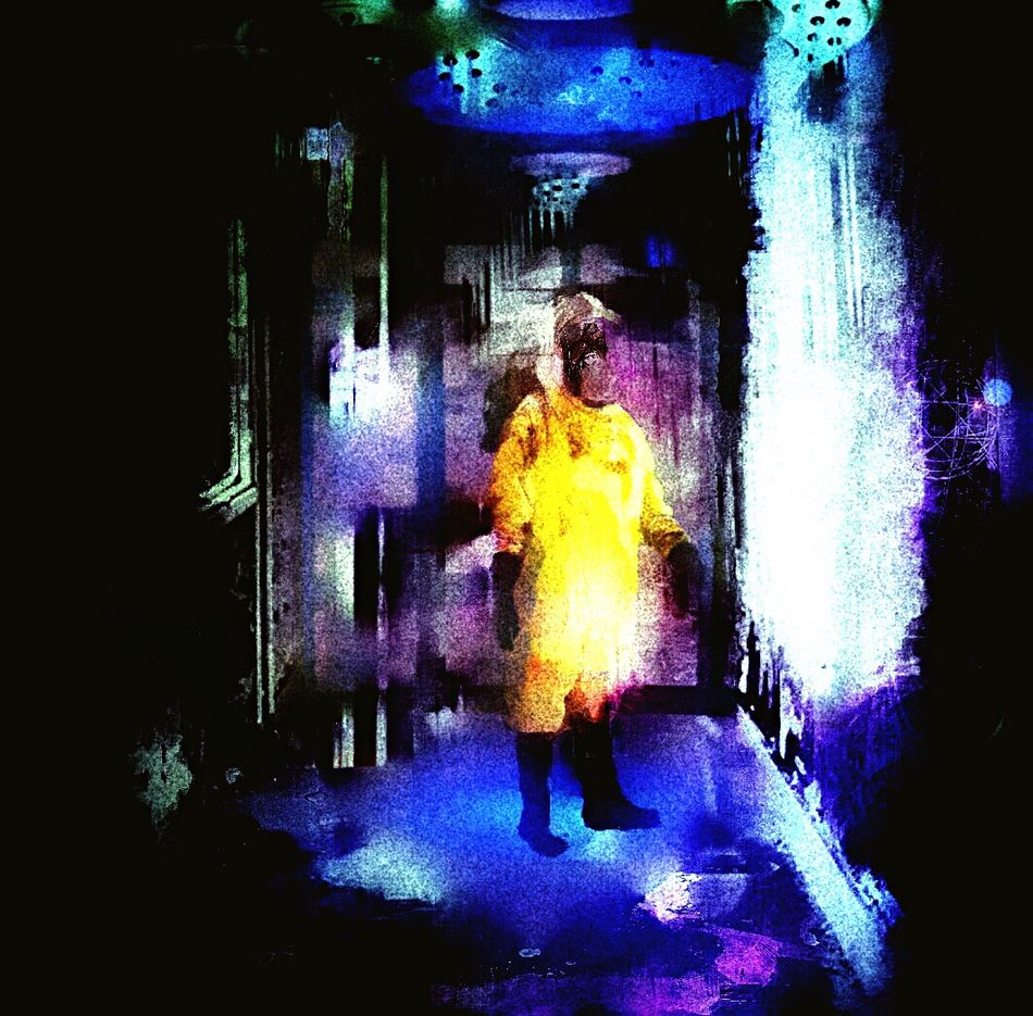 Decontamination Cold Shower Yellow Celtic Longitude Silhouette Securitydoor Abandonned House Passage After Watch Movie Twelve Monkeys Transportation Freestyle Graphic Design Colors Playing With Filters Take Photos Digital Art Digital Painting Looking Into The Future Mix Grain Ok Sorry Michael EyeEm Best Shots
