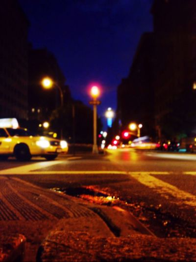 Parkavenue Manhattan New York Streetphotography The Street Photographer - 2015 EyeEm Awards Nightphotography Night Lights Night View Citynights Taxi